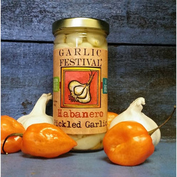 Garlic Festival Foods Habanero Pickled Garlic