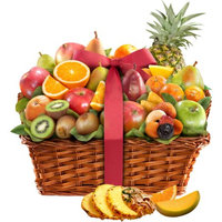 Golden State Fruit Tropical Abundance Fruit Gift Basket