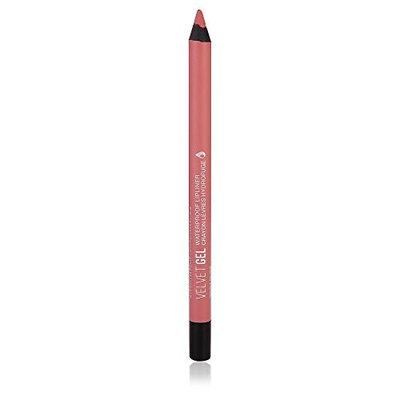 Marcelle Velvet Gel Waterproof Lip Liner, Rosy Nude, Hypoallergenic and Fragrance-Free, 0.04 oz