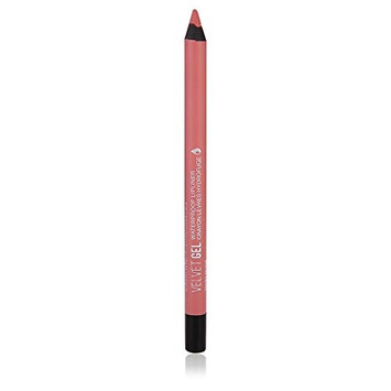 Marcelle Velvet Gel Waterproof Lip Liner, Rosy Nude, Hypoallergenic and Fragrance-Free, 0.04 oz