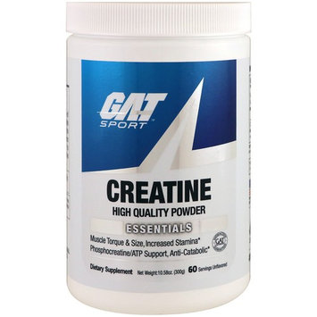 GAT, Creatine, Unflavored, 10.58 oz (300 g)