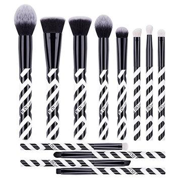 DUcare Makeup Brushes Set, 12 Pcs Face Foundation Blush Contour Eyeliner Eye Shadow Lip Cosmetic Brushes for Powder Liquid Cream