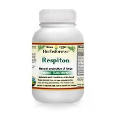 Respiton (Ayurvedic Respiratory Care Formulation) (Support Lungs and clear Airways Naturally) 90 Vege Capsules, 800 Mg Each - Concentrated No filler, No binder, Gluten-Free
