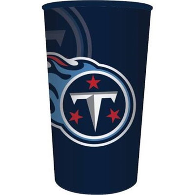 Hoffmaster Group 119531 20 by 1 Count Tennessee Titans 22 oz Plastic Favor Cup - Case of 20