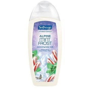 Softsoap Body Wash - Limited Edition - Alpine Mint Frost - Net Wt. 18 FL OZ (532 mL) Each - Pack of 2