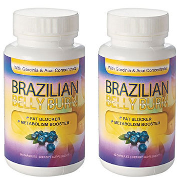 Totally Products, Llc. Brazilian Belly Burn Acai All Pure Diet Pill (Pack of 2)