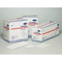 Sorbalux - Non-Adherent Dressing Sorbalux - Rayon / Polyester 3 X 8 Inch Sterile - 50/Box - McK