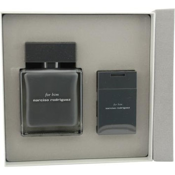 Narciso Rodriguez By Narciso Rodriguez For Men Edt Spray 3.4 Oz & Aftershave Balm 1.6 Oz