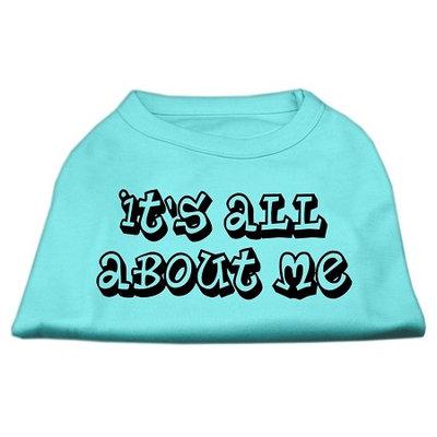 Mirage Pet Products 5140 XSAQ Its All About Me Screen Print Shirts Aqua XS 8