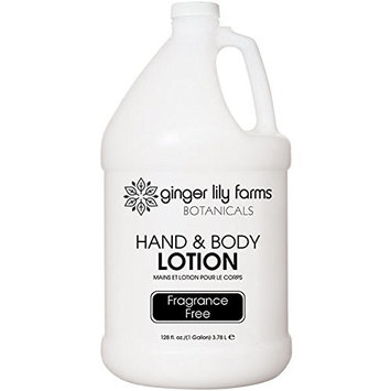Ginger Lily Farms Botanicals Fragrance Free Lotion Gallon, 128 Fluid Ounce
