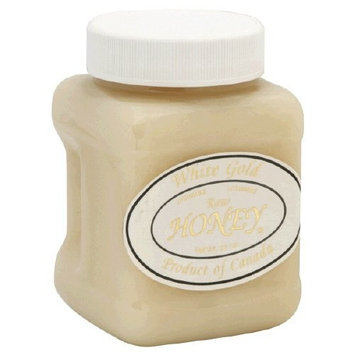 White Gold Raw Honey, 2 Pack, 23 Ounce each = 46 Ounce