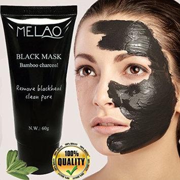Blackhead Peel Off Mask, Black mask, Blackhead Remover Mask, Purifying Black Peel off Charcoal Mask, Pore Removal Peel off Strip Mask Blackhead Acne Black mud facial mask