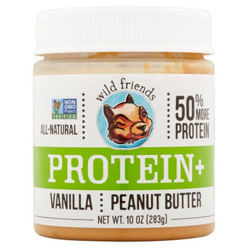Wal-mart Stores, Inc. Wild Friends, Pnt Butter Vanilla Protein, 10 Oz (Pack Of 6)