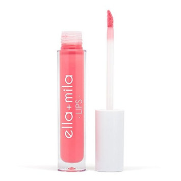ella+mila Lip Gloss, Stripped - Paraben Free w/ Vitamin E, Long Lasting & Moisturizing (0.12fl oz)