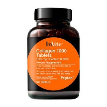 InVite Health Collagen 1000 Tablets