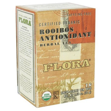 Flora Tea Rooibos Antioxidant - 16 Tea Bags