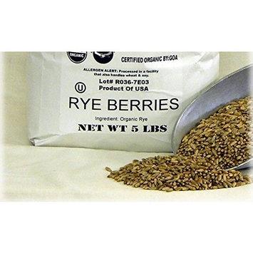 Rye Berries Organic 5 lbs.
