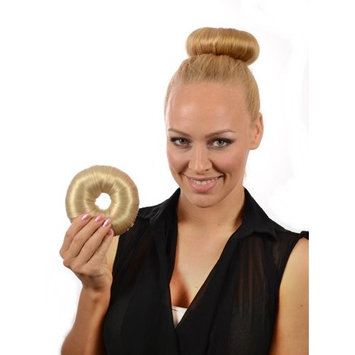 Sandy Blonde Hair DoNut | Up Do Soft Flexi Hair Ring | Multi Use Hairstyler | Bun creator