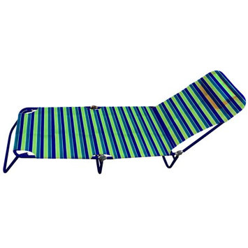 Chaby Intl Hawaiian Tropic Five Position folding lounge chair with pillow head rest and carrying straps