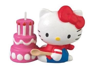 Wilton HELLO KITTY CANDLE Kitten Birthday Party Cake