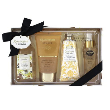 Swissco Kensington Studio Luxurious 4-Piece Gift Set, Vanilla Spice