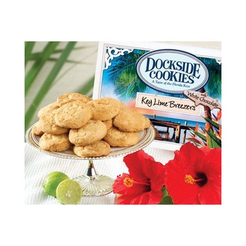 Dockside Market Direct From The Florida Keys Key Lime Cookies With Natural Key Lime And White Chocolate Chips
