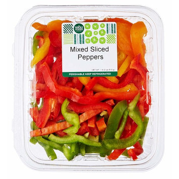 Whole Foods Market Mixed Sliced Peppers, 18 oz
