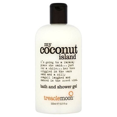 Treacle Moon Coconut Island Bath & Shower Gel 500ml (PACK OF 4)