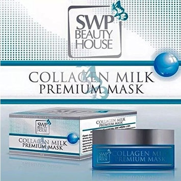 SWP Collagen Milk Premium Mask recover quickly Reduces dark spots 15g. by jawnoy