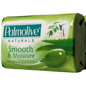 Palmolive Naturals Moisture Care with Aloe & Olive Extracts Bar Soap, 80 G / 2.8 Oz Bars, 3 in a Pack (Pack of 4) 12 Bars Total