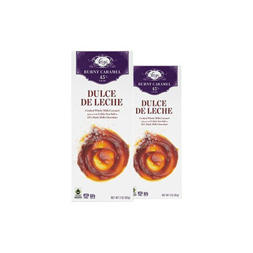 Vosges Haut-Chocolat Dulce de Leche Chocolate, Pack of 2, 3oz Bars [Dulce de Leche Chocolate]