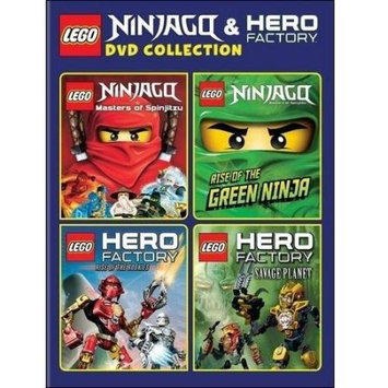 Warner Brothers Lego: Ninjago And Hero Factory Dvd Collection Dvd from Warner Bros.