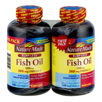 Pharmavite Llc Nature Made Fish Oil 1200mg Softgels, 140 ct each, 2 pk