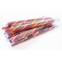 Gilliam Old Fashioned Bubble Gum Stick Candy, (Pack of 80)