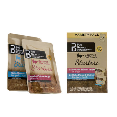 US Pet Nutrition Pure Balanceâ ¢ Cat Treat Starters - Variety Pack (5pk)