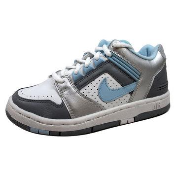 Nike Grade-School Air Force II 2 Union Grey/Ice Blue-Metallic Silver 310470-041