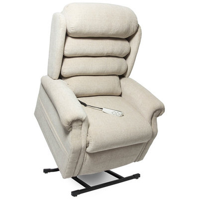 Easy Comfort Stellar 3-position Electric Lift Chair Recliner-Doe (curbside delivery)