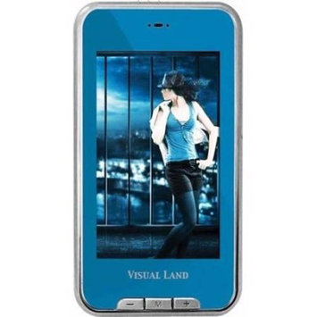 Visual Land - V-Touch Pro 8GB Video MP3 Player - Blue