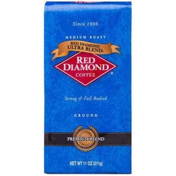 Red Diamond Coffee Ultra Blend Medium Roast Ground Coffee, 11 oz