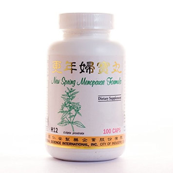 Spring Menopause Formula Dietary Supplement 500mg 100 capsules (Geng Nian Fu Bao Wan) H12 100% Natural Herbs