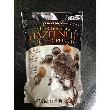Kirkland Milk Chocolate Hazelnut Toffee Crunch 1.5 lb.