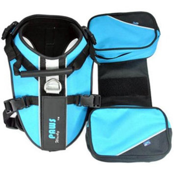 Wacky Paws WPH018-BL Sport Pet Travel Harness, Blue, X-Large