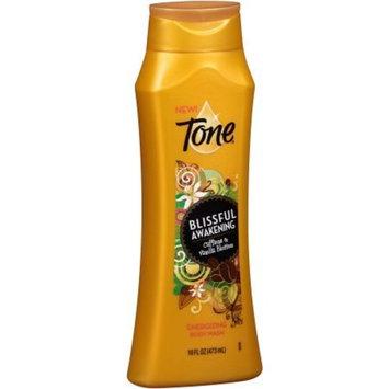 2 Bottles Of Tone Blissful Awakening Caffeine & Vanilla Blossom Energizing Body Wash, 16 fl oz ea