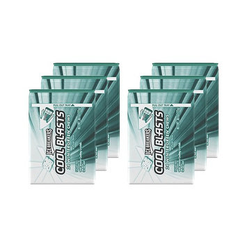 ICE BREAKERS Cool Blasts Sugar Free Chews (Mints), Wintegreen, 0.8 Ounce (Pack of 6)