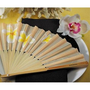 Tropical Fan With Romantic Floral Details