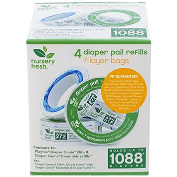 Nursery Fresh Refill for Diaper Genie (8 pack (2176 count))