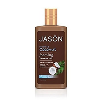 Jason Foaming Shower Oil, Smoothing Coconut, 10 Fluid Ounce by Jason