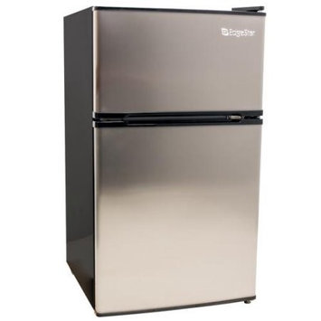 EdgeStar 3.1 Cu. Ft. Energy Star Fridge/Freezer - Stainless Steel