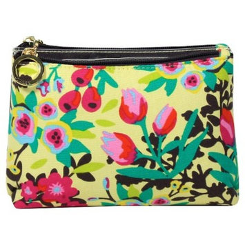 Contents Garden Party Double Zip Purse Kit Cosmetic Bag