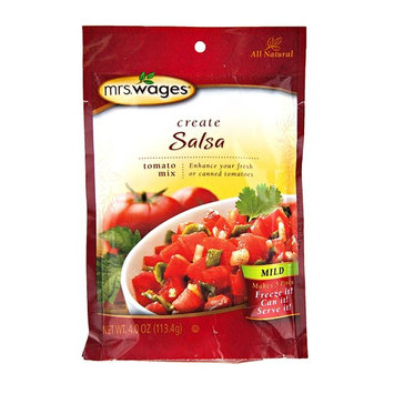 Mrs. Wages Variety Pack of Mild, Medium & Hot Salsa Mix 4 oz. (6 Packets)